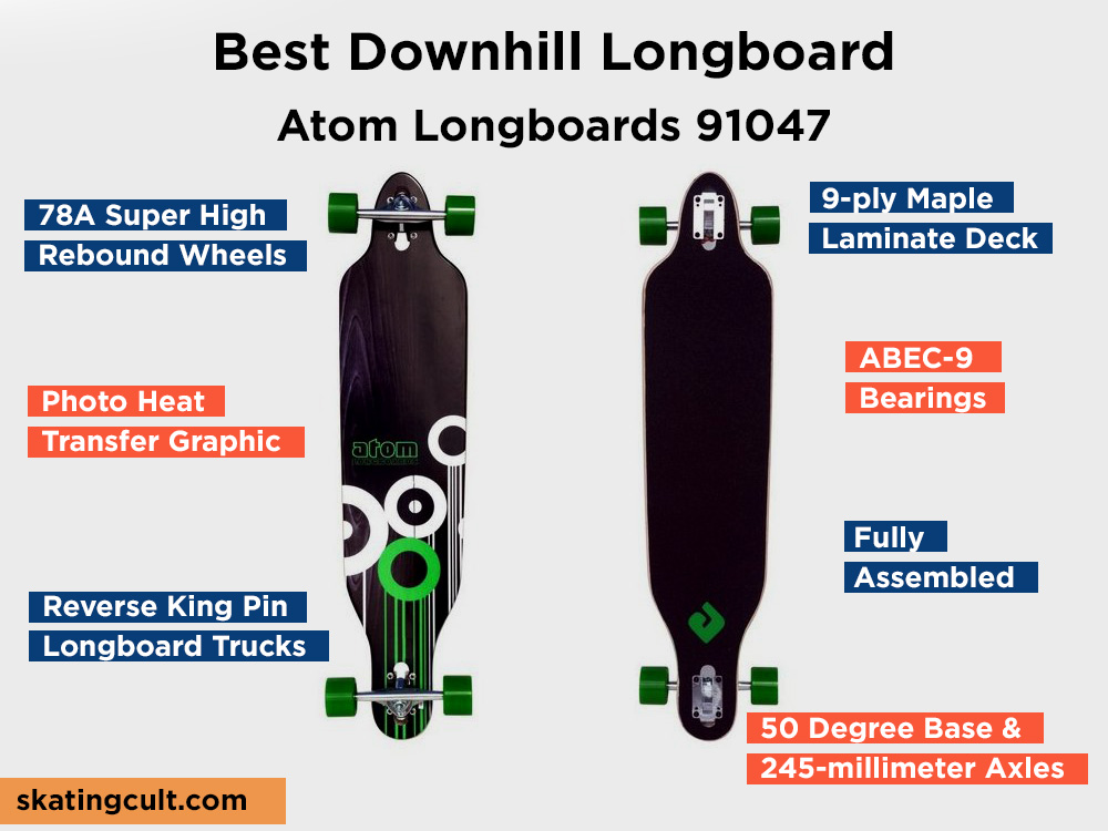 Atom Longboards 91047 Review, Pros and Cons