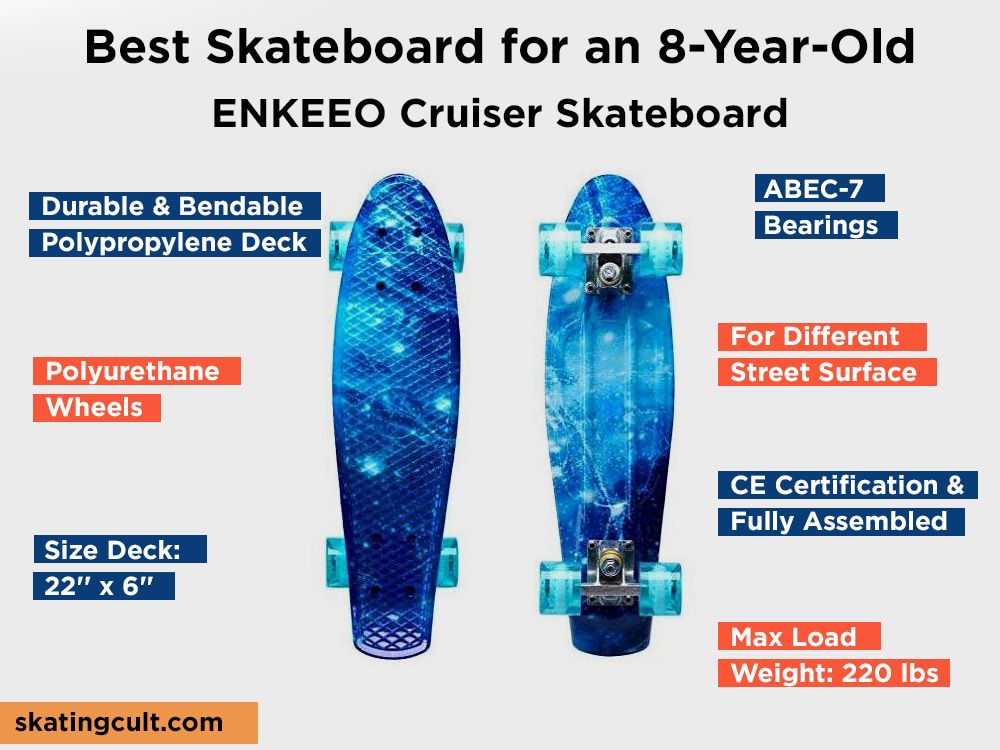 ENKEEO Cruiser Skateboard Review, Pros and Cons