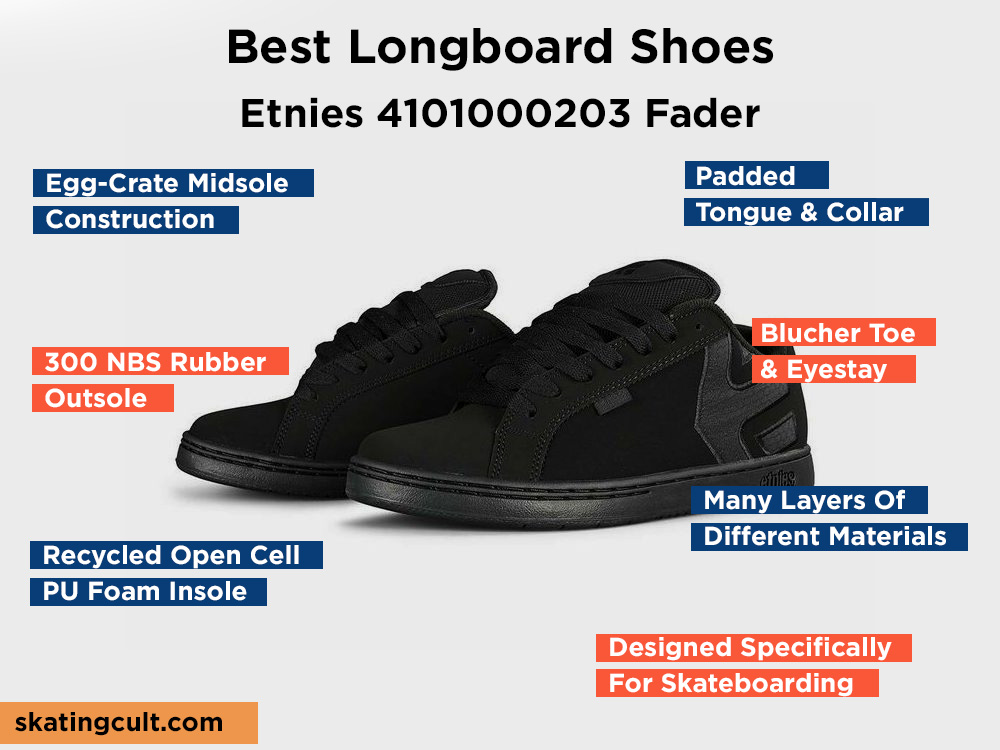 Etnies 4101000203 Fader Review, Pros and Cons