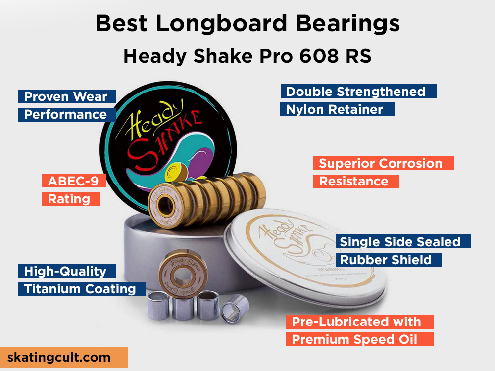 Heady Shake Pro 608 RS Review, Pros and Cons