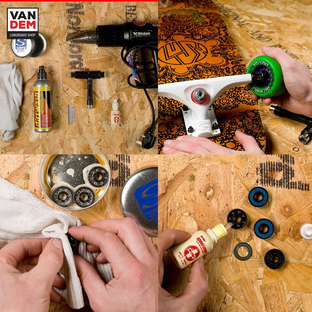 How to Clean Skateboard Bearings