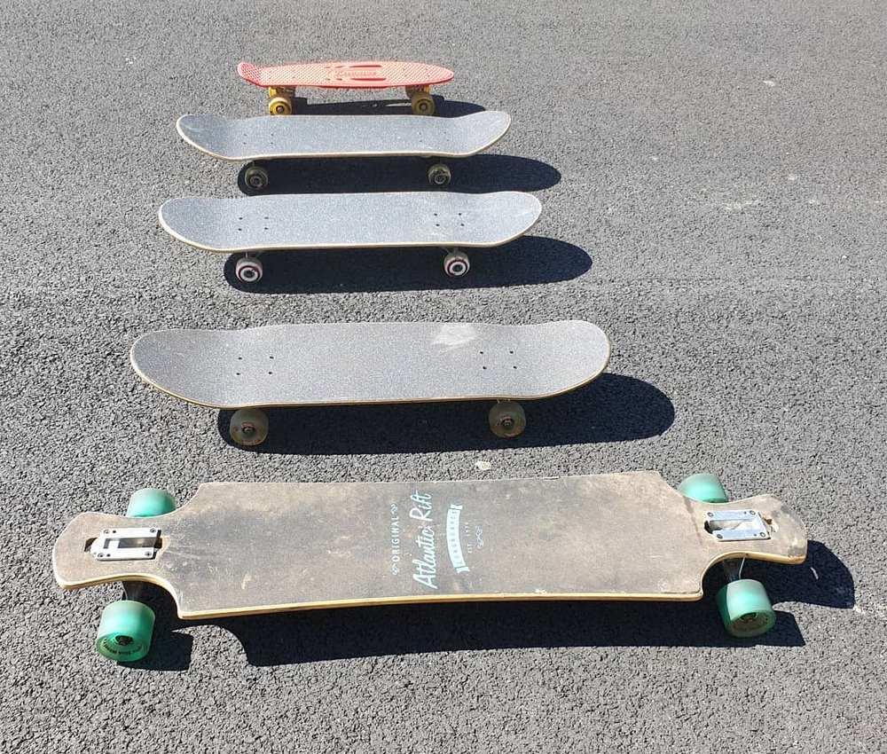 Penny Board, Skateboard & Longdoard