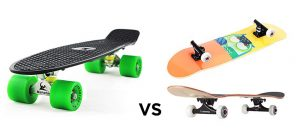 Penny Board vs Skateboard