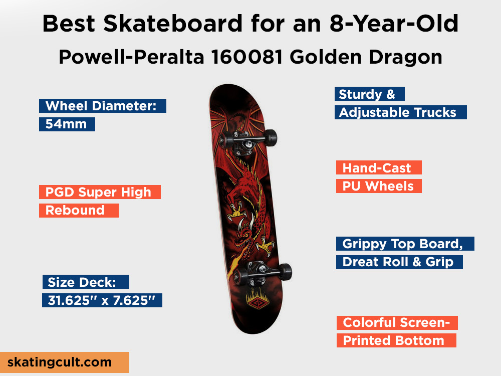 Powell-Peralta 160081 Golden Dragon Review, Pros and Cons