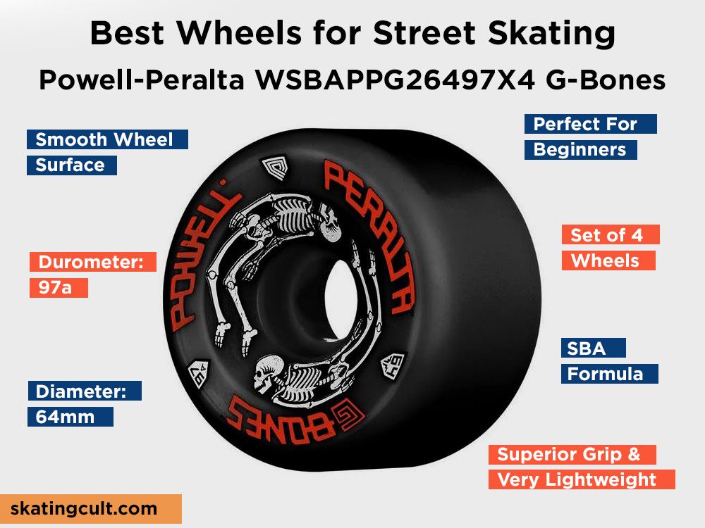 Powell-Peralta WSBAPPG26497X4 G-Bones Review, Pros and Cons