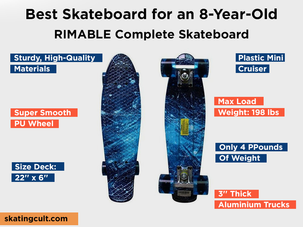 RIMABLE Complete Skateboard Review, Pros and Cons