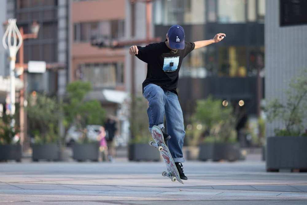 Skateboard for trick