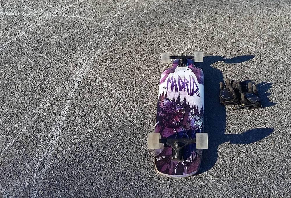 TGM Skateboards WLB-70SHA-CLR x4